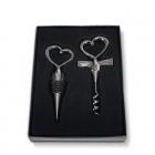 Wedding wine opener set