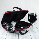 Wine Case with Glasses diVinto Diamond