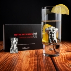 Metal Ice Cubes - Man and Woman