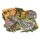 Puzzle 3D - Safari