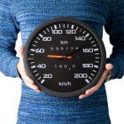 Speedometer Clock - silent mechanism