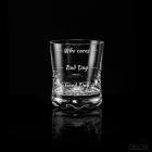 Etui dla Pary z kieliszkiem i szklanką Froster Who cares Diamond