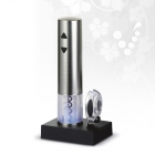 Silver Twister electric wine opener