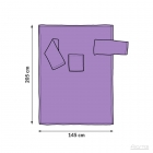 Blanket dressing gown - Lilac