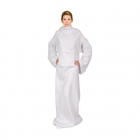 Blanket dressing gown - White