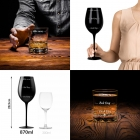 Case for Couple with Wine and Whisky Glasses Froster Who cares Black