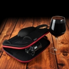 Case for Couple with Wine and Whisky Glasses Froster Diamond