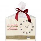 Zegar z ramkami na zdjęcia Prezent na ŚLUB wesele