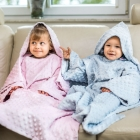 Baby Wrapi - Blanket with sleeves - Blue