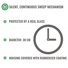 Music Clock - silent mechanism