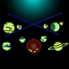 Mobilny układ słoneczny