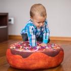 Giant Donut Pillow