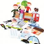 Bath Stickers - Emergency Services