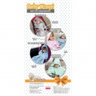 Baby Wrapi - Blanket with sleeves - Mint