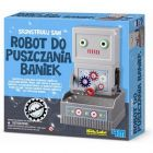 Robot puszczający bańki