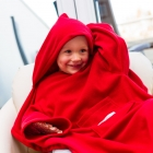Baby Wrapi Active - Blanket with sleeves - Červený