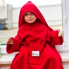Baby Wrapi Active - Blanket with sleeves - Red