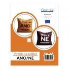 Povlak na polštář - ANO/NE (CZ)