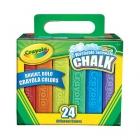 Washable Sidewalk Chalk - 24 pcs