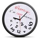 Zegar dla spóźnialskich (EN) - cichy mechanizm