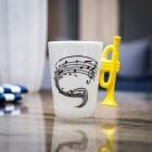 Hudební hrnek - Trumpet