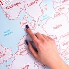 Mapa Zdrapka dla Dwojga - ulepszona zdrapka