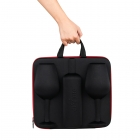 Wine Case with Glasses diVinto Who cares Black