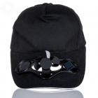 Solar cap with fan - Black