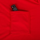 Blanket Dressing Gown for Couple - Red