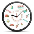 Zegar Biologiczny Kobiety (EN) - cichy mechanizm