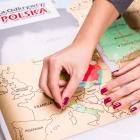 Mapa Odkrywcy - Polska - ulepszona zdrapka