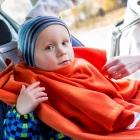 Baby Wrapi Active - Kocyk z rękawami - Rudy