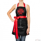 Woman cooking apron