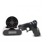 Gun alarm clock - Black