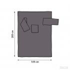 Blanket dressing gown - Graphite