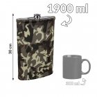 Giant hip flask - Military