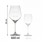 Wine Case with Glasses diVinto Who cares Diamond