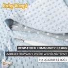 Baby Wrapi - Kocyk z rękawami - Miętowy