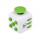 Fidget Cube - Biało - zielony