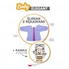 Baby Elegant - Śliniak z rękawami