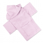 Baby Wrapi - Blanket with sleeves - Pink