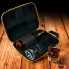 Froster Whisky Case with Glasses Who cares