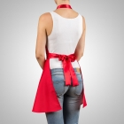 Nitly Red - Dress Apron