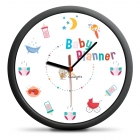 Baby Planner Clock - silent mechanism
