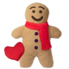 Heated Gingerbread Man with a Warm Heart