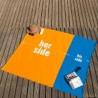 Ręcznik dla Pary - Her Side His Side
