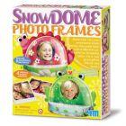 Snow photo frames