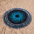 Okrągły Ręcznik Obiektyw
