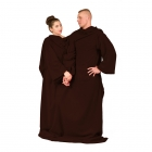 Blanket Dressing Gown for Couple - Chocolate