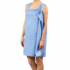 Towel-bathrobe - Blue